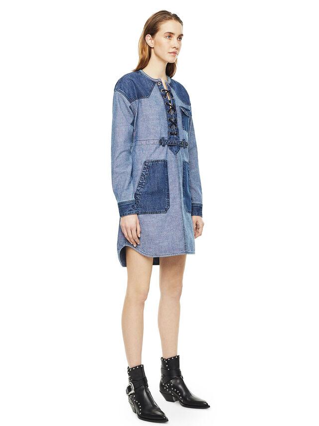 Diesel - DAFARY, Blue Jeans - Dresses - Image 5