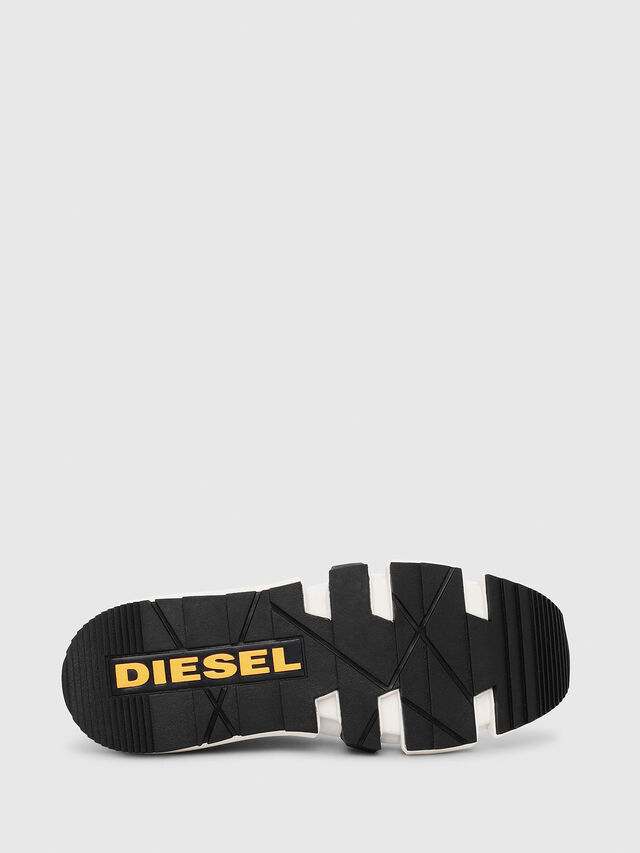 Diesel - H-PADOLA HIGH SOCK, White - Sneakers - Image 4