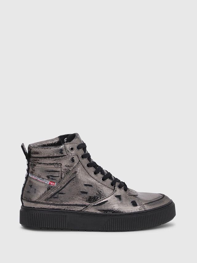 Diesel - S-DANNY MC II W, Silver/Black - Sneakers - Image 1