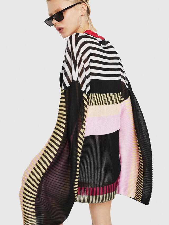 Diesel - M-PLEAT-A, Multicolor - Sweaters - Image 2