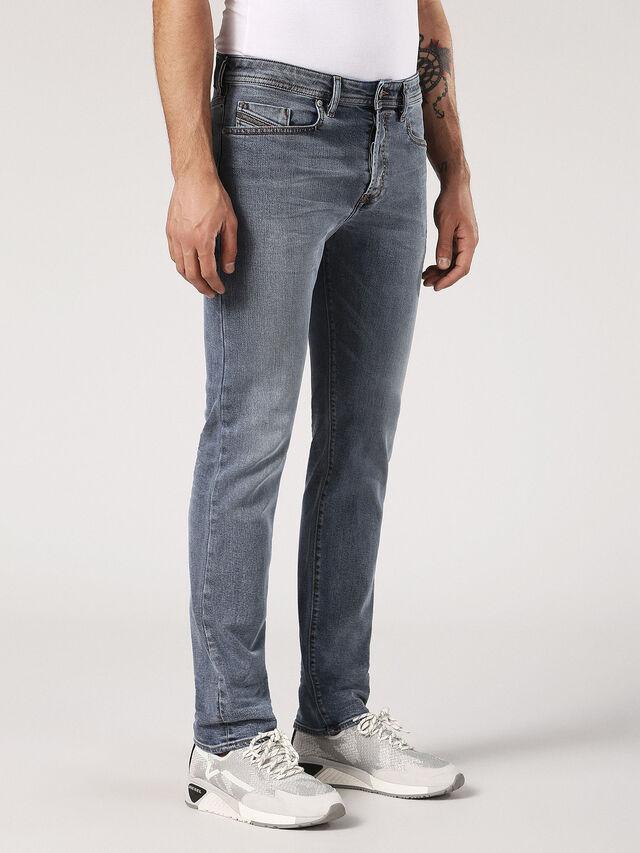 Diesel - Buster 084SJ, Light Grey - Jeans - Image 3