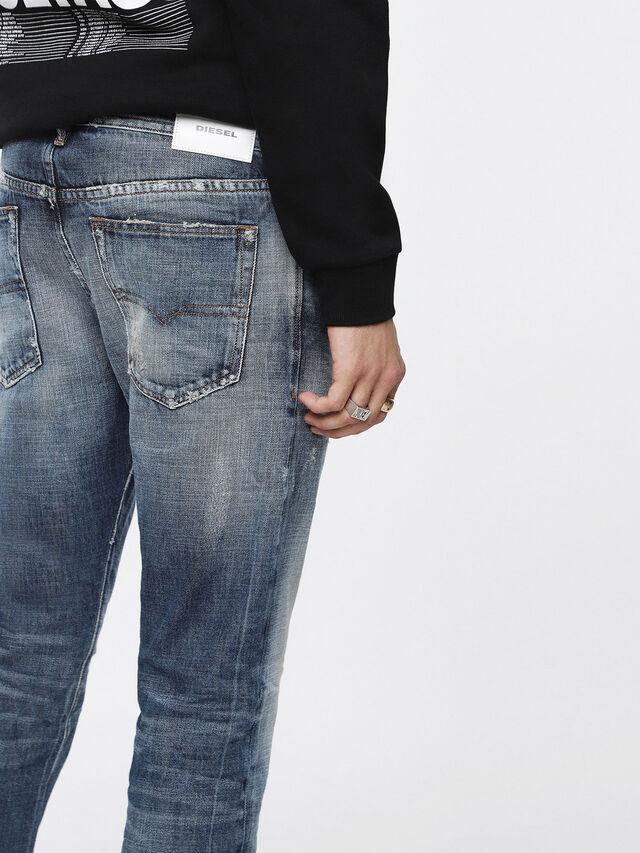 Diesel - Buster 084WN, Medium Blue - Jeans - Image 5