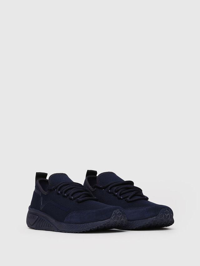 Diesel - S-KBY STRIPE W, Dark Blue - Sneakers - Image 3
