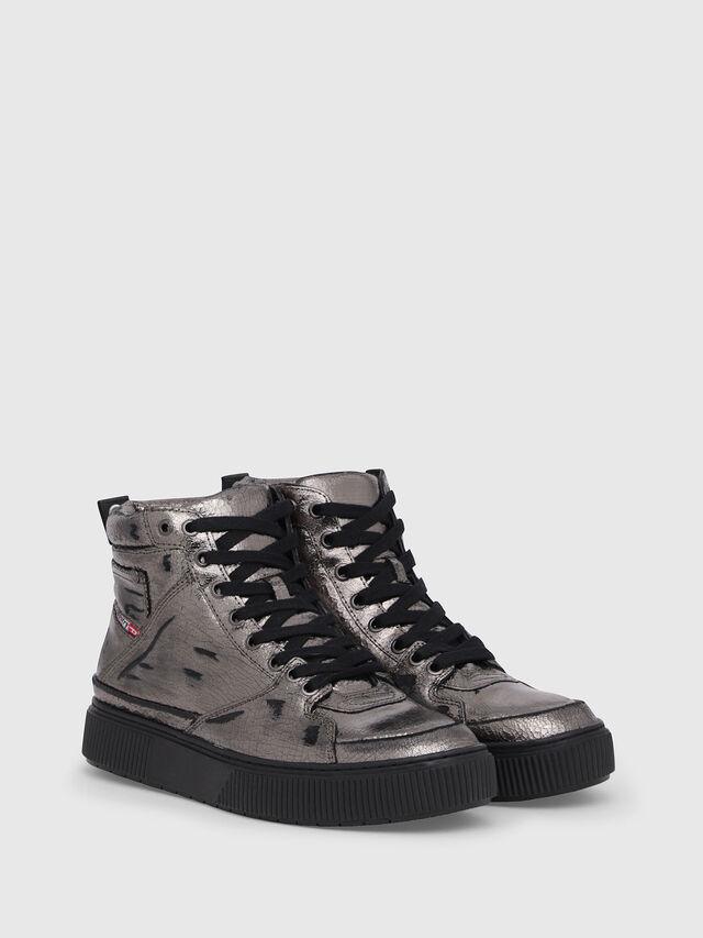 Diesel - S-DANNY MC II W, Silver/Black - Sneakers - Image 2