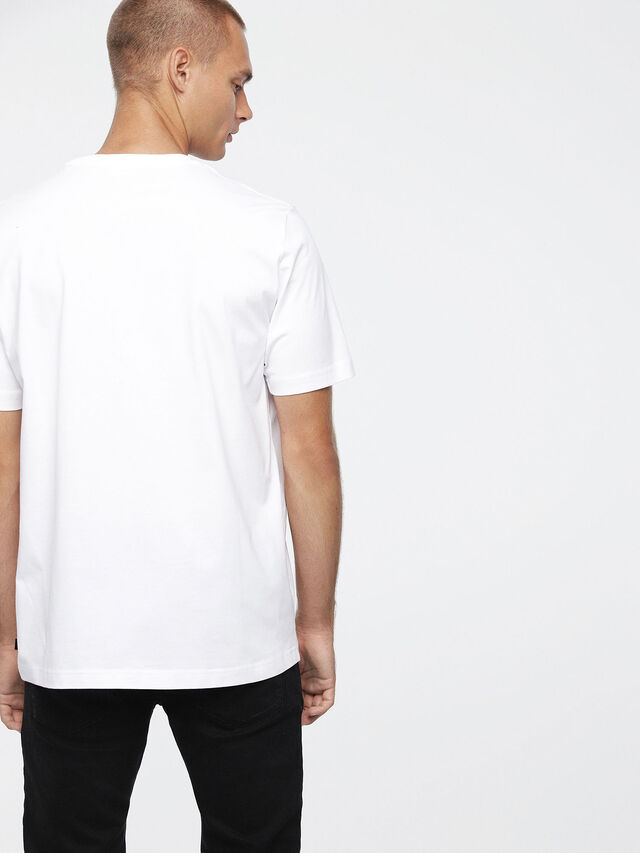 Diesel - T-JUST-XZ, White - T-Shirts - Image 2