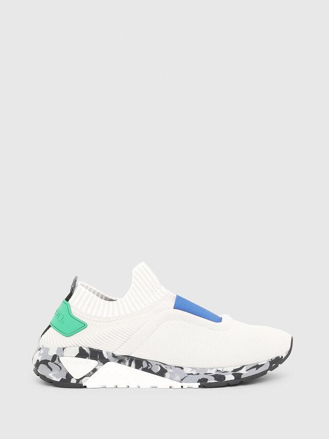 Diesel - S-KB SE, White/Grey - Sneakers - Image 1