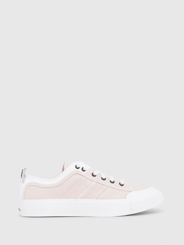 Diesel - S-ASTICO LOW LACE W, Pink/White - Sneakers - Image 1