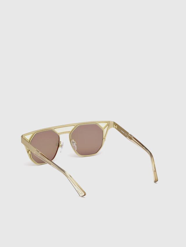 Diesel - DL0249, Gold - Sunglasses - Image 2