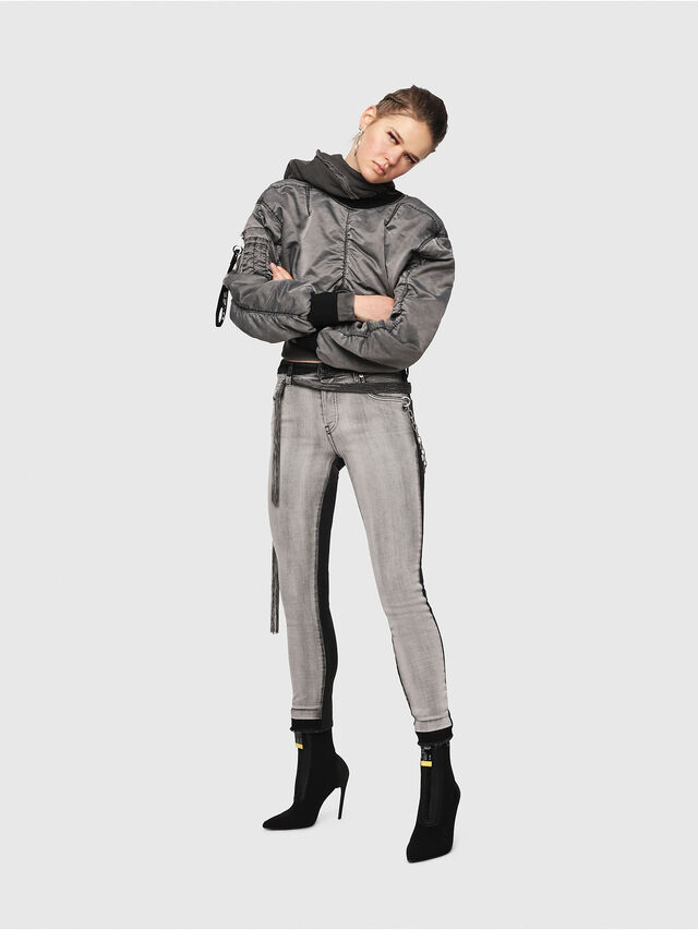 Diesel - Babhila 081AG, Black/Dark Grey - Jeans - Image 6