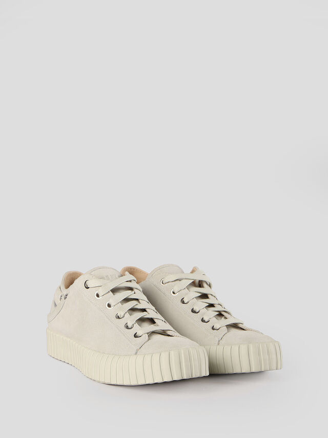 Diesel - S-EXPOSURE CLC W, Dirty White - Sneakers - Image 3
