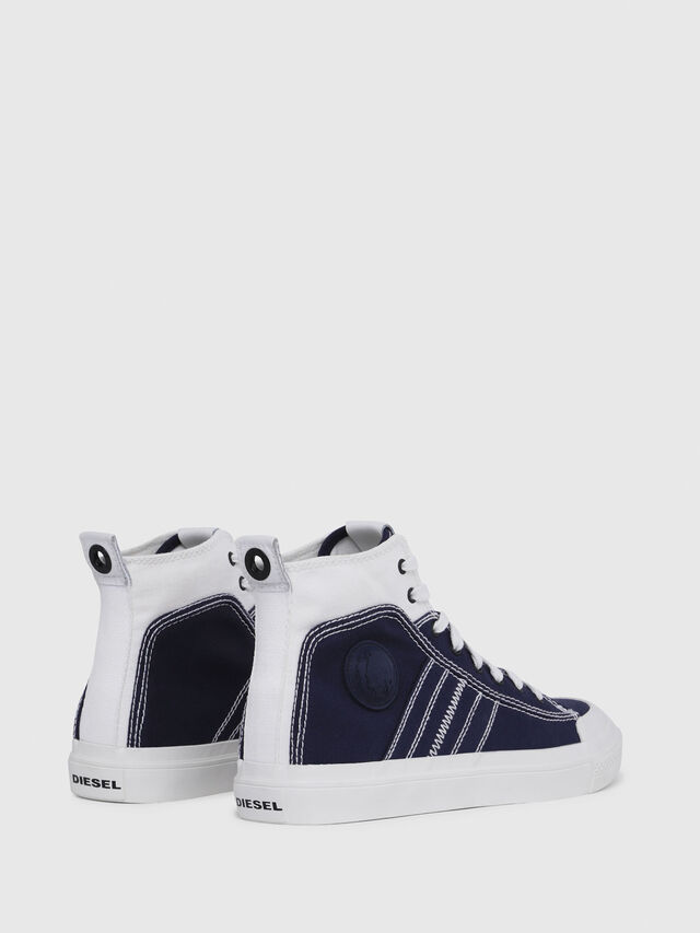 Diesel - S-ASTICO MID LACE, Blue/White - Sneakers - Image 3