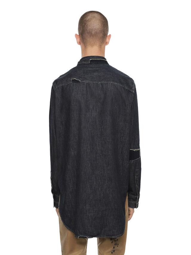 Diesel - SEROI-DEN, Dark Blue - Shirts - Image 2