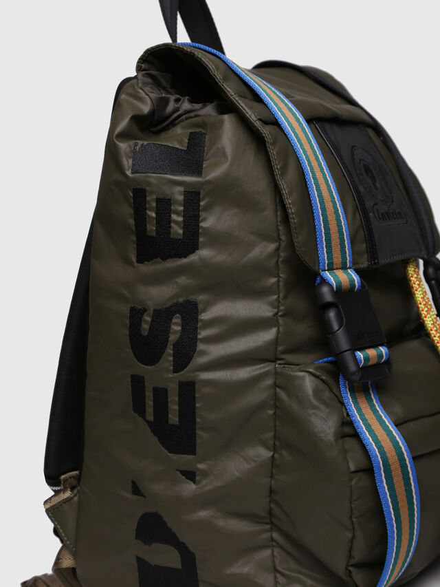 Diesel - M-INVICOLAB BACK II, Dark Green - Backpacks - Image 3