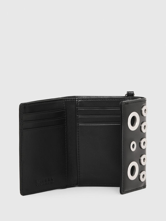 Diesel - YAMY II, Black/White - Small Wallets - Image 3