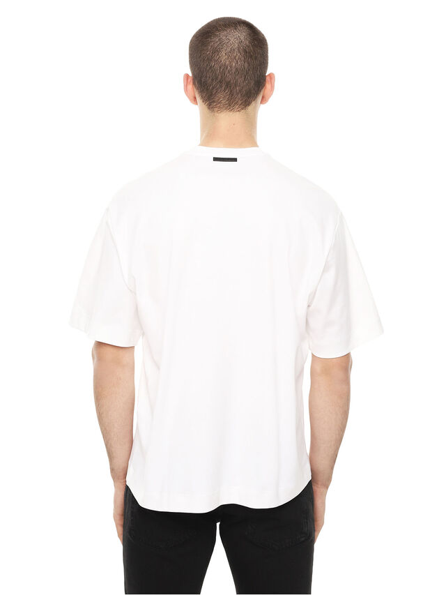 Diesel - TEORIA-MELTINGSOLDIE, White - T-Shirts - Image 2