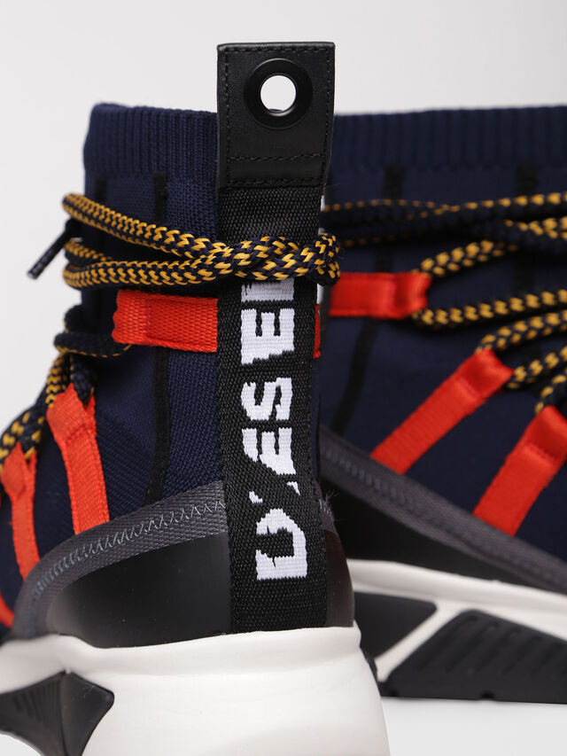 Diesel - S-KB LOOP SOCK, Black/Red - Sneakers - Image 5