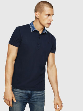 29c6c3b2 Mens Polos: short, long sleeves | Diesel Online Store