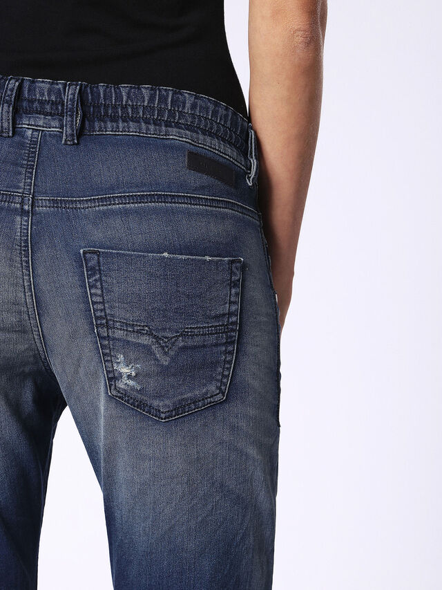 Diesel - Krailey JoggJeans 069CB, Dark Blue - Jeans - Image 6