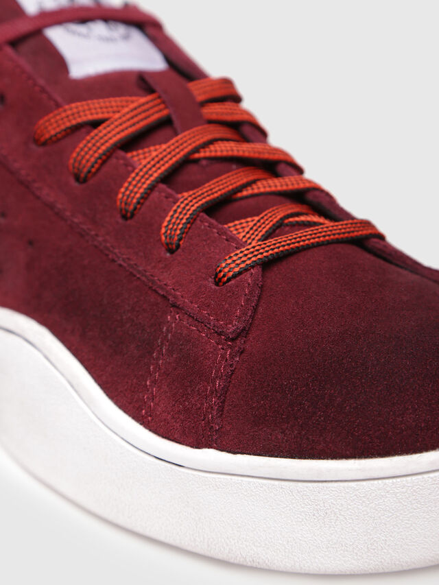 Diesel - S-CLEVER LOW, Red Wine - Sneakers - Image 4