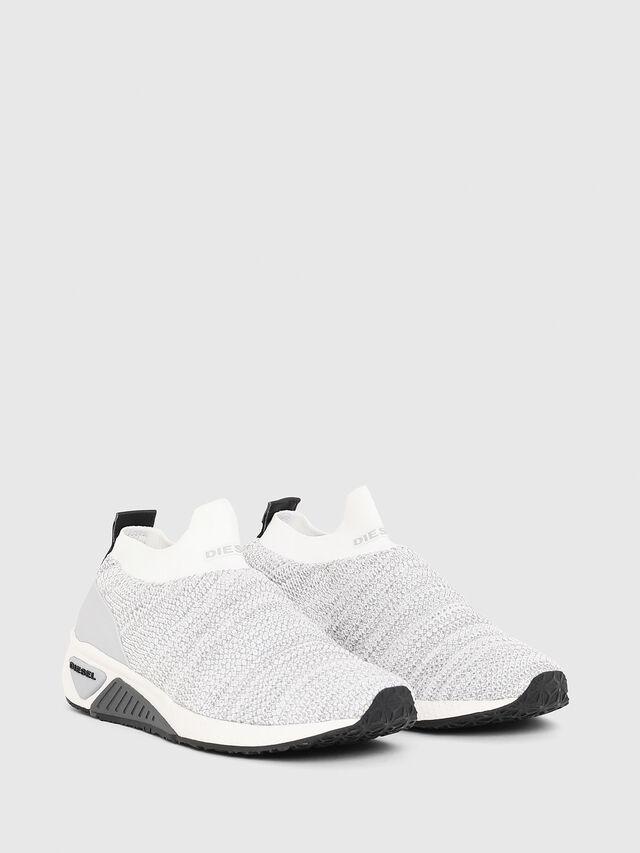Diesel - S-KB ATHL SOCK W, Light Grey - Sneakers - Image 2