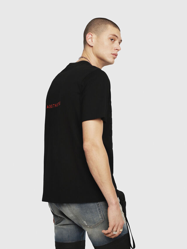Diesel - T-JUST-YO, Black - T-Shirts - Image 2
