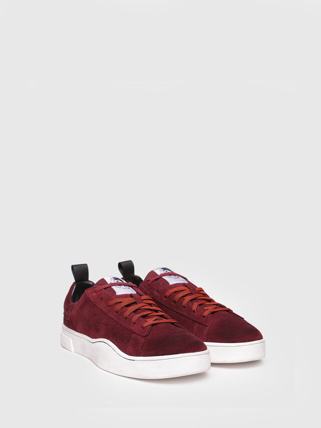 Diesel - S-CLEVER LOW, Red Wine - Sneakers - Image 2