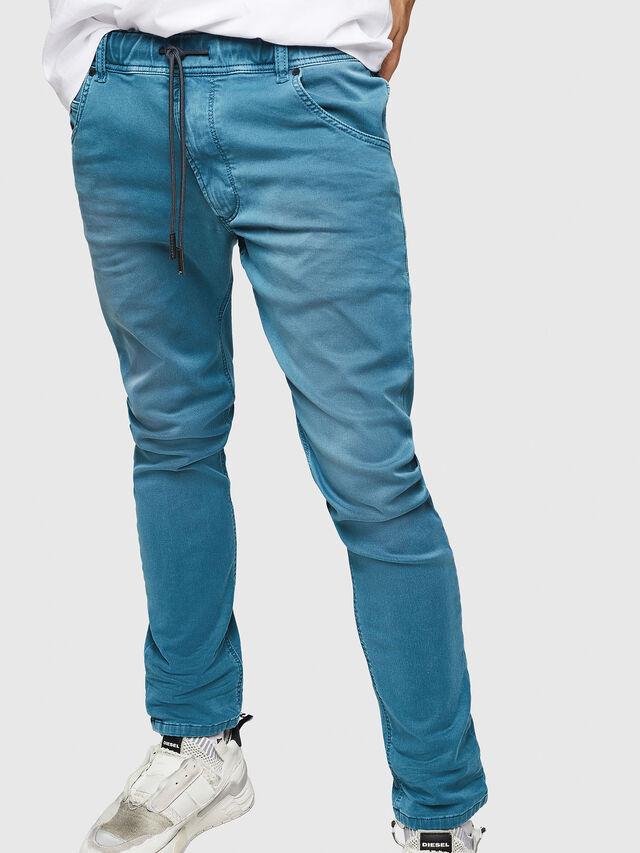 Diesel - Krooley JoggJeans 0670M, Light Blue - Jeans - Image 4
