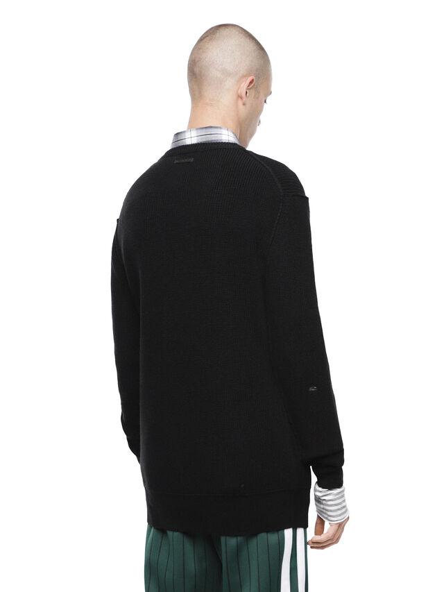 Diesel - KABUCO, Black - Sweaters - Image 2