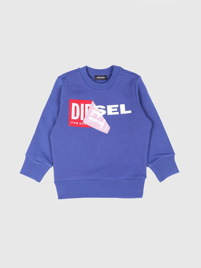 Diesel - SALLIB-R, Cerulean - Sweatshirts - Image 1