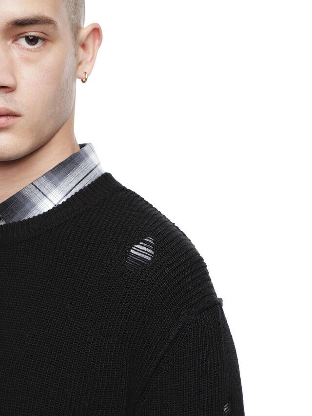 Diesel - KABUCO, Black - Sweaters - Image 3