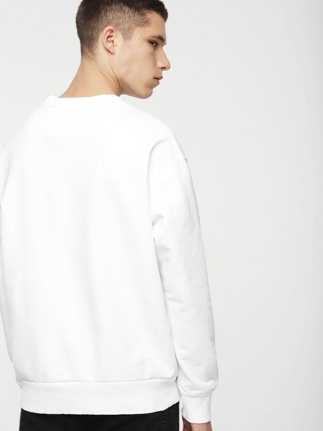 Diesel - DVL-SIFLA-CAPSULE, White - Sweatshirts - Image 2