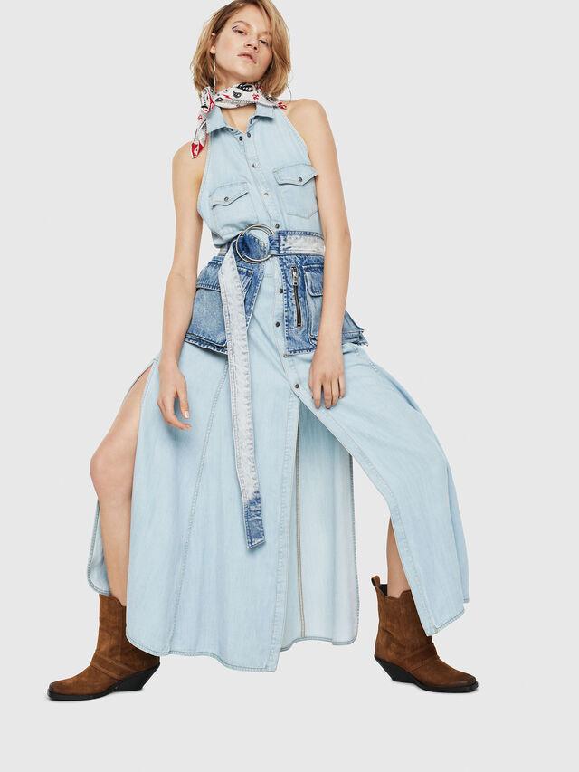 Diesel - DE-POKY, Blue Jeans - Dresses - Image 1
