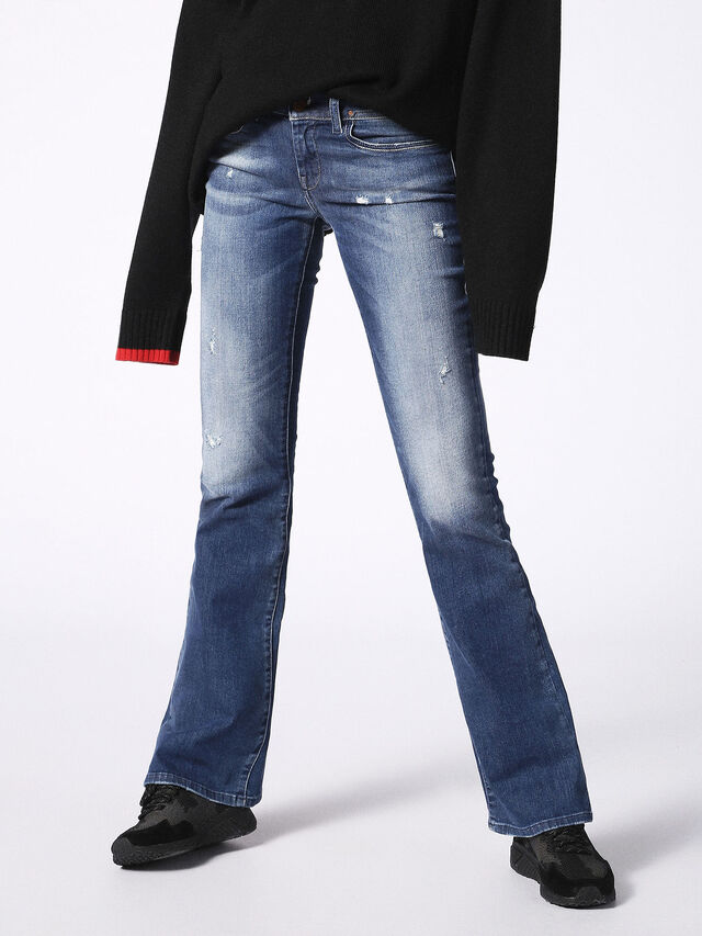 Diesel - LOWLEEH 084KY, Blue jeans - Jeans - Image 1