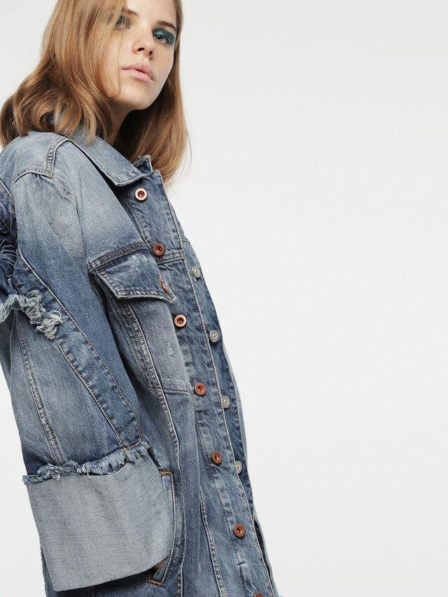 Diesel - DE-VISEMAC, Blue Jeans - Denim Jackets - Image 4