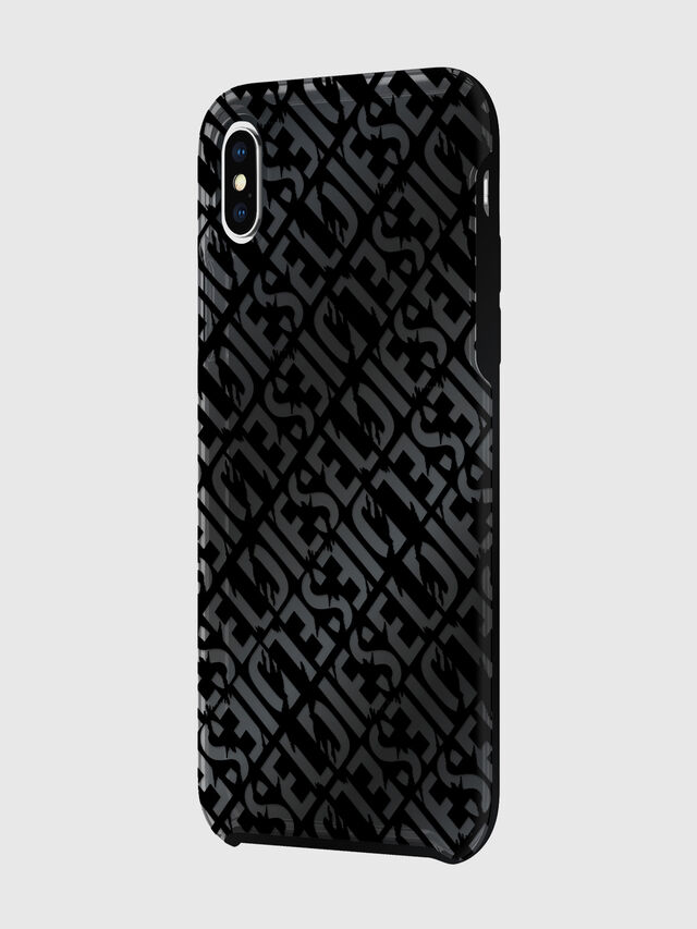 Diesel - DIESEL PRINTED CO-MOLD CASE FOR IPHONE XS MAX, Black - Cases - Image 5