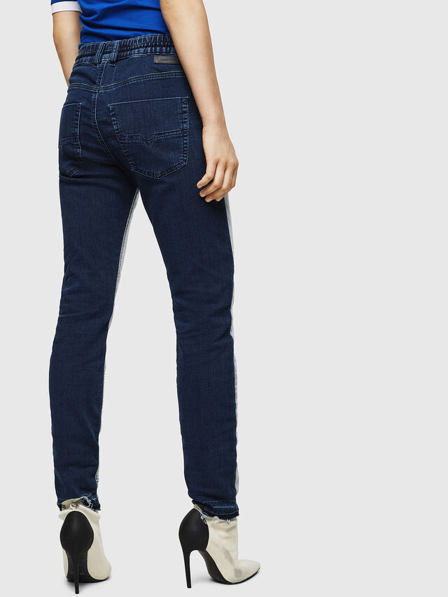 Diesel - Krailey JoggJeans 0870R, Medium Blue - Jeans - Image 2
