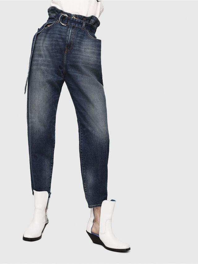 Diesel - D-Vizons 089AR, Medium Blue - Jeans - Image 1