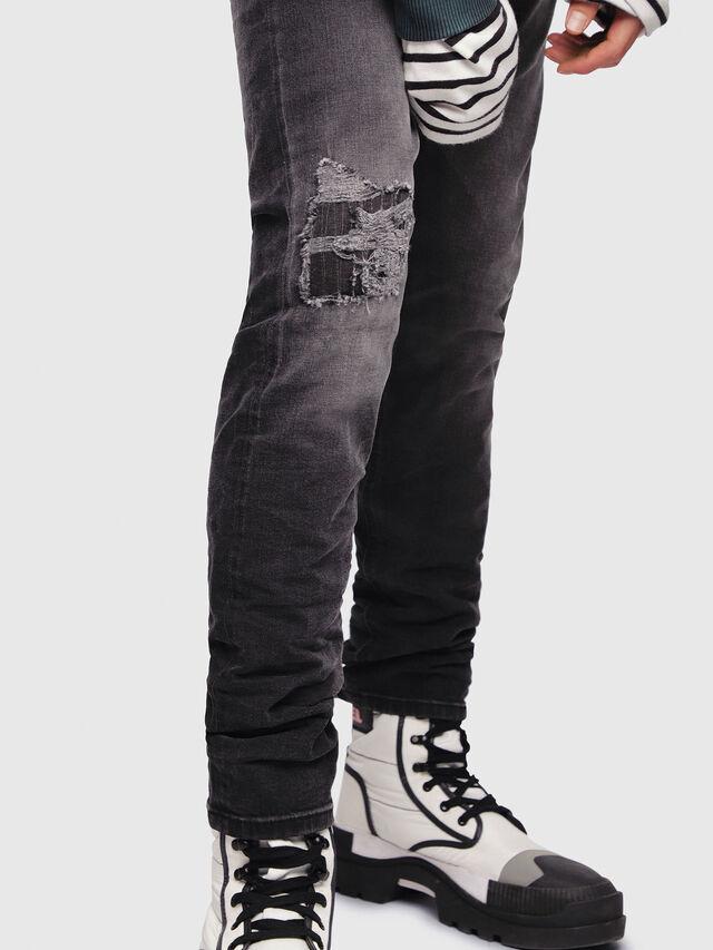 Diesel - Tepphar 069DW, Black/Dark Grey - Jeans - Image 3