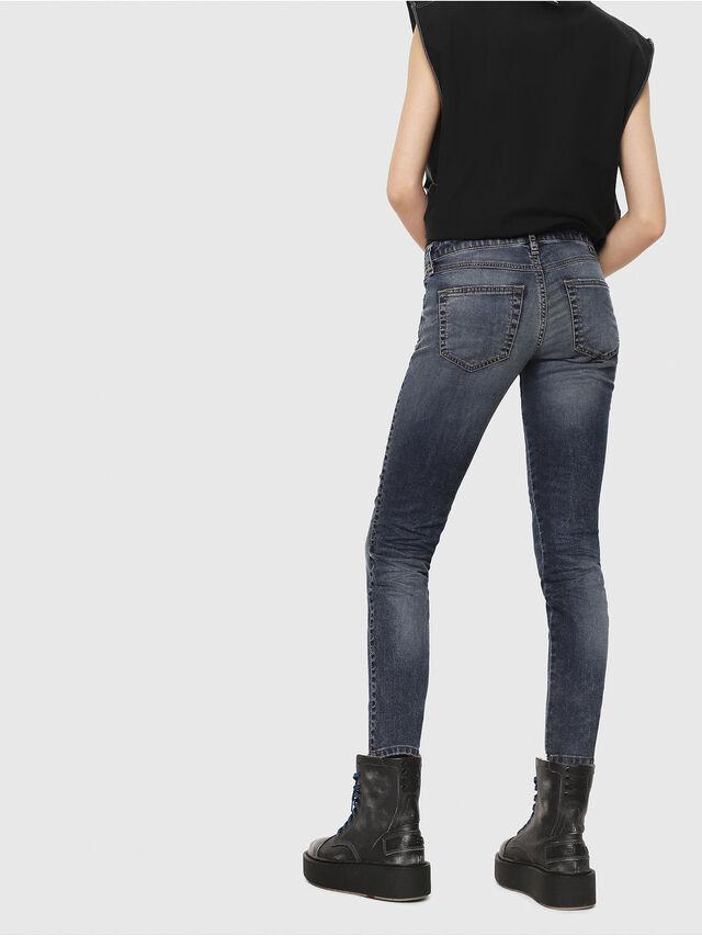 Diesel - Gracey JoggJeans 069FG, Medium Blue - Jeans - Image 2