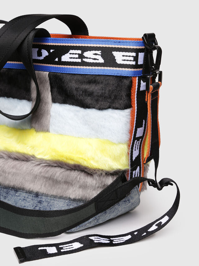 Diesel - ARAJUKU SHOPPER M, Multicolor - Shopping and Shoulder Bags - Image 4
