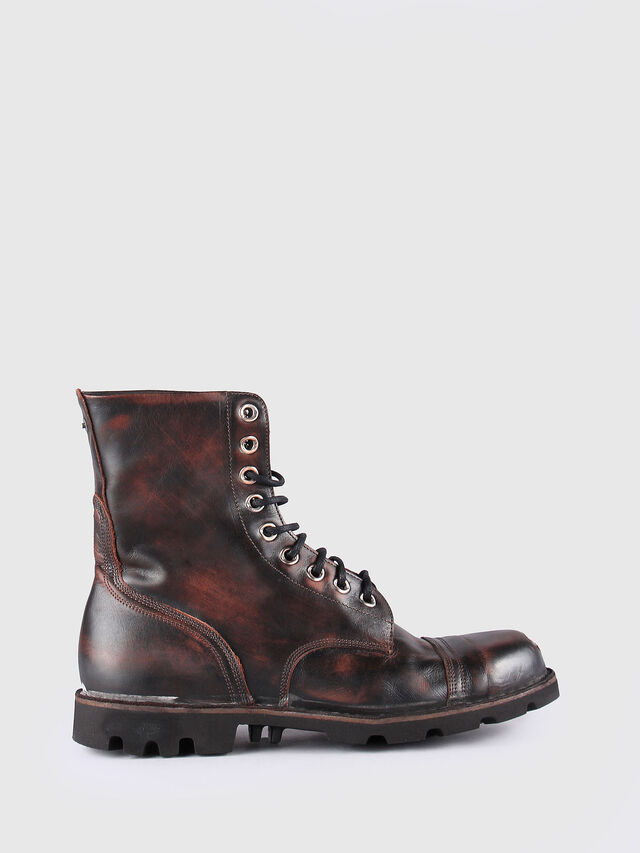 Diesel - HARDKOR, Brown Leather - Boots - Image 1