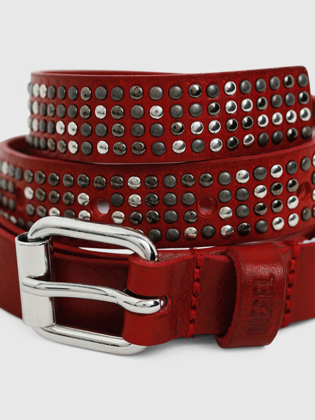 Diesel - B-MINISTUD, Red - Belts - Image 2