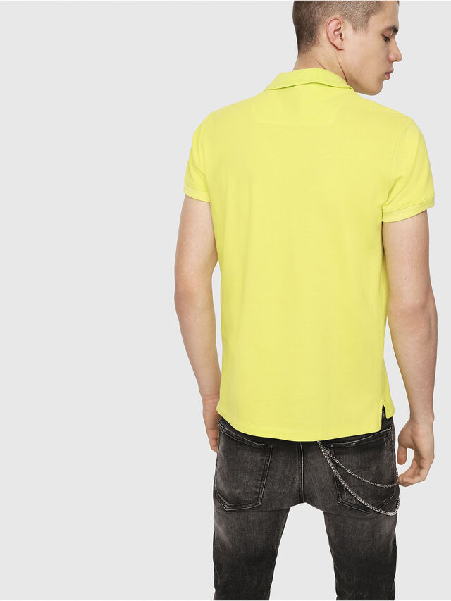 Diesel - T-HEAL-BROKEN-ST, Yellow Fluo - Polos - Image 2