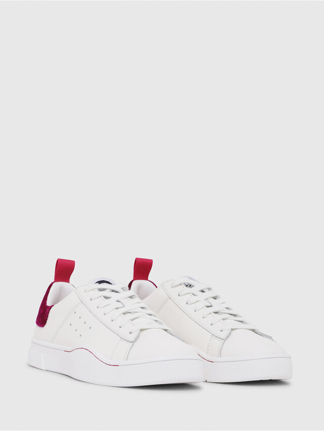 Diesel - S-CLEVER LOW W, White/Red - Sneakers - Image 2