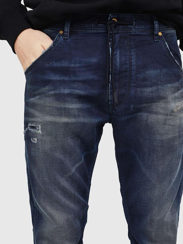 Diesel - Krooley JoggJeans 069GZ, Dark Blue - Jeans - Image 4