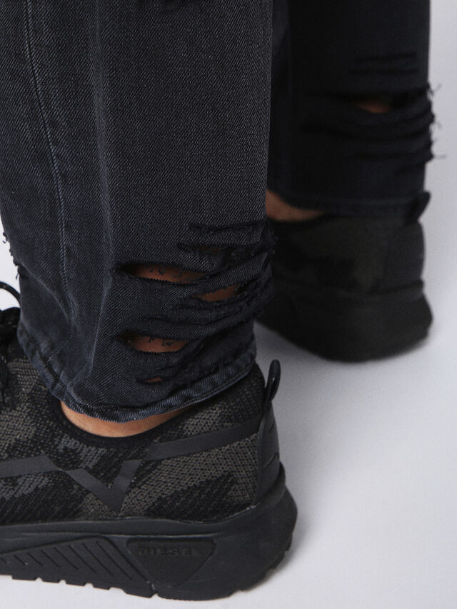 Diesel - Buster 084PQ, Black/Dark Grey - Jeans - Image 8
