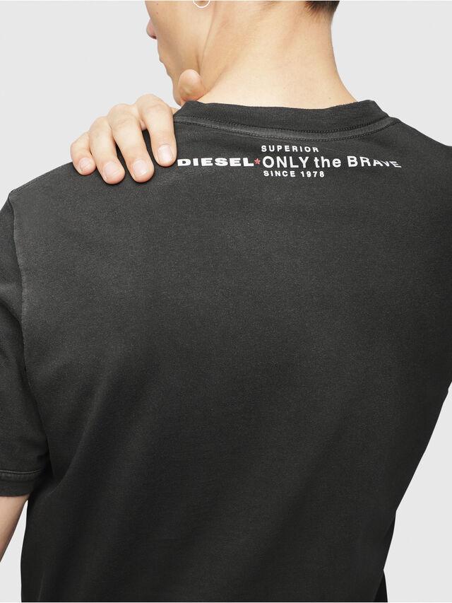 Diesel - T-SHOJI, Black - T-Shirts - Image 3