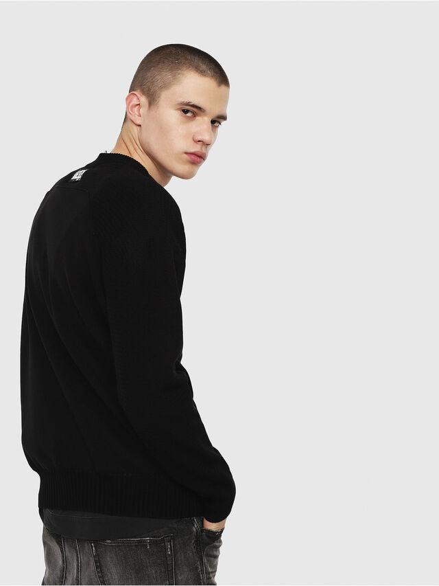 Diesel - K-MELT, Black - Sweaters - Image 2