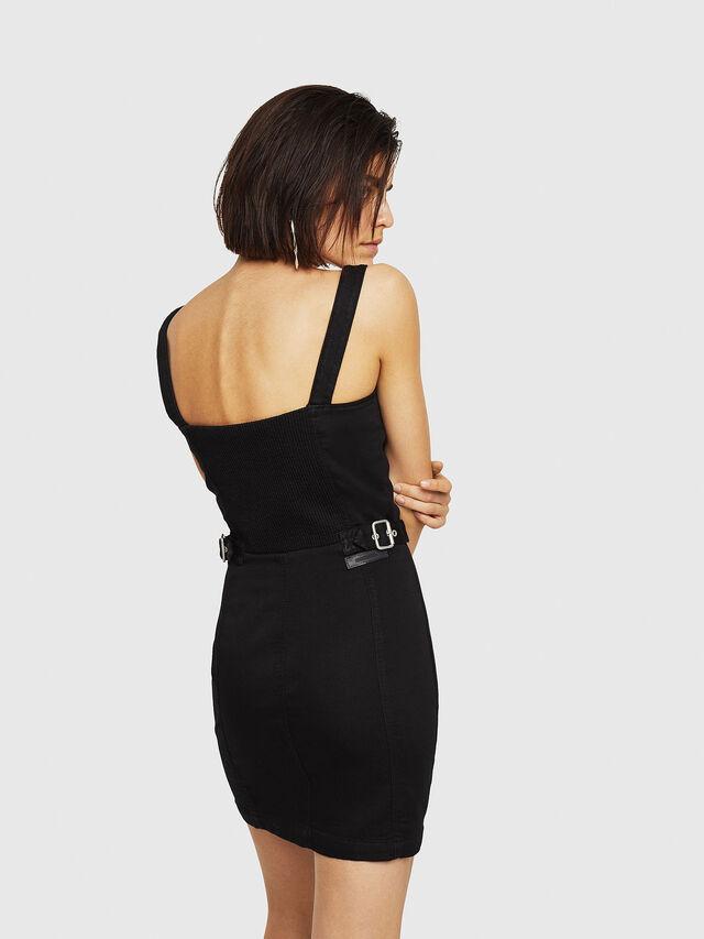 Diesel - D-ARTYN JOGGJEANS, Black - Dresses - Image 2