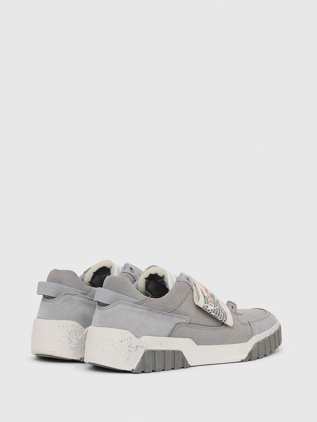 Diesel - S-LE RUA ON W, Light Grey - Sneakers - Image 3